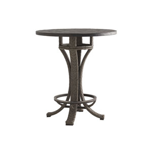 Blue Olive Brown Bistro Table