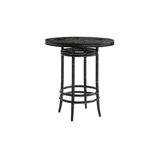 Marimba Black Bistro Table