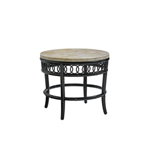 Marimba Black End Table