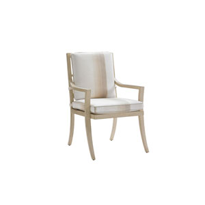 Misty Garden Ivory and Beige Dining Chair