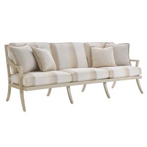 Misty Garden Ivory and Beige Sofa