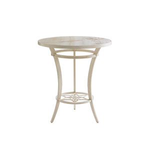 Misty Garden Ivory Bistro Table