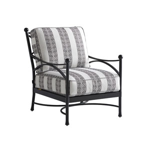 Pavlova Graphite and Gray Lounge Chair