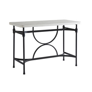 Pavlova Graphite and White Hi/Lo Bistro Table