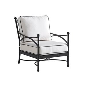 Pavlova Graphite and White Lounge Chair