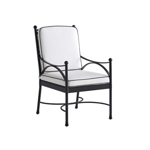 Pavlova Graphite and White Dining Chair