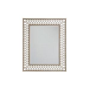Malibu Warm Taupe 37 x 45 Inch Manzanita Metal Mirror