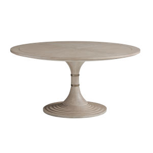 Malibu Warm Taupe 60-Inch Kingsport Round Dining Table