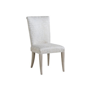 Malibu Warm Taupe Serra Upholstered Side Chair