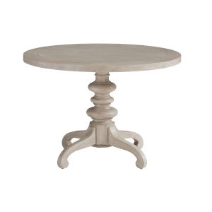 Malibu Warm Taupe Latigo Round Center Table