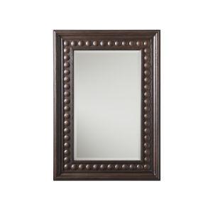 Malibu Rich Expresso 52 x 37 Inch Las Flores Mirror