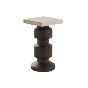 Malibu Rich Expresso 11-Inch Calamigos End Table