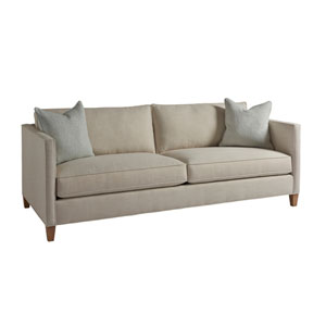 Upholstery Beige Malcolm Apartment Sofa