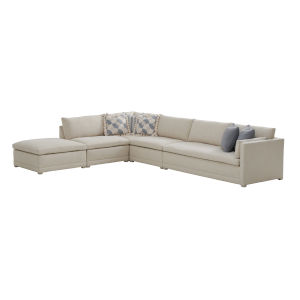 Upholstery Biege Colony Sectional