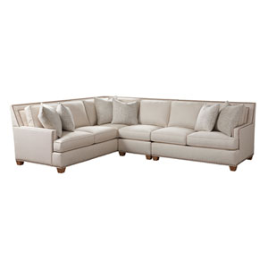 Upholstery Beige Morgan Sectional