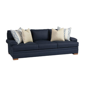 Upholstery Dark Blue Maxwell Sofa