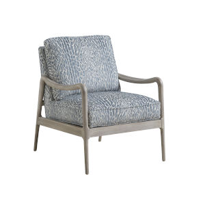 Upholstery Gray Leblanc Chair