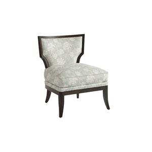 Uttermost Schafer Aged White 44 Inch Arm Chair 23615