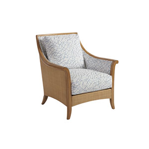 Upholstery White Nantucket Raffia Chair