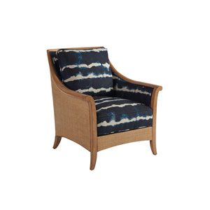 Upholstery Blue Nantucket Raffia Chair