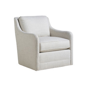 Upholstery White Glennhaven Swivel Chair