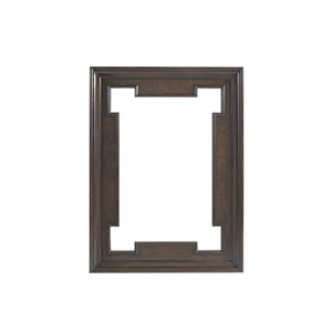 Brentwood Brown Highwood Rectangular Mirror
