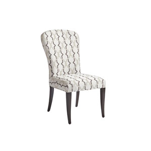 Brentwood White Schuler Upholstered Side Chair