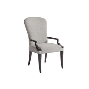 Brentwood Gray Schuler Upholstered Arm Chair