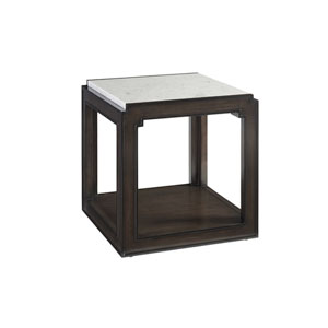 Brentwood Brown Doheny Lamp Table