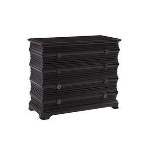 Brentwood Black Chaparal Bachelors Chest