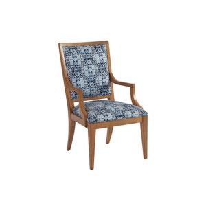 Newport Blue Eastbluff Upholstered Arm Chair