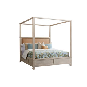 Newport Sailcloth Shorecliff King Canopy Bed