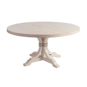 Newport Sailcloth Magnolia Round Dining Table