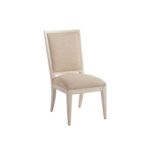 Newport Beige and White Eastbluff Upholstered Side Chair