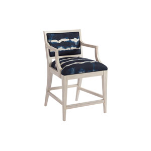Newport Blue Eastbluff Upholstered Counter Stool