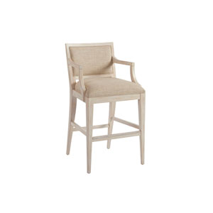 Newport Beige Eastbluff Upholstered Bar Stool