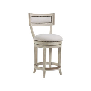 Cohesion Program Bianco Aperitif Swivel Counter Stool