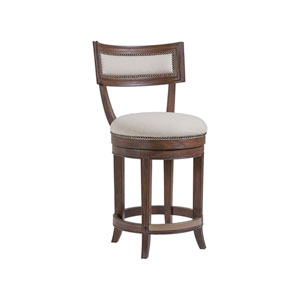 Cohesion Program Marrone Aperitif Swivel Counter Stool