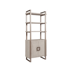 Cohesion Program Bianco Vertex Bookcase