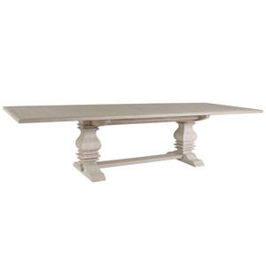 Cohesion Program Bianco Axiom Rectangular Dining Table