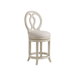 Cohesion Program Bianco Axiom Swivel Counter Stool