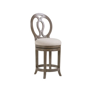 Cohesion Program Grigio Axiom Swivel Counter Stool