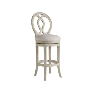 Cohesion Program Bianco Axiom Swivel Barstool