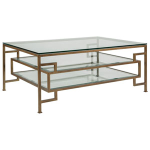 Metal Designs Renaissance Suspension Rectangular Cocktail Table