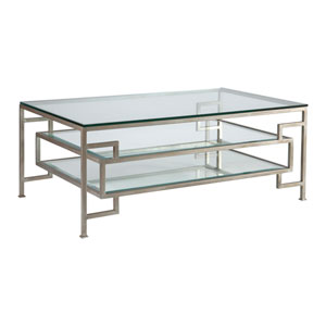 Metal Designs Argento Suspension Rectangular Cocktail Table