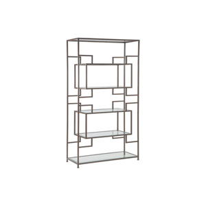 Metal Designs Antique Copper Suspension Etagere