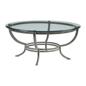 Metal Designs St. Laurent Andress Round Cocktail Table