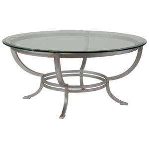 Metal Designs Argento Andress Round Cocktail Table
