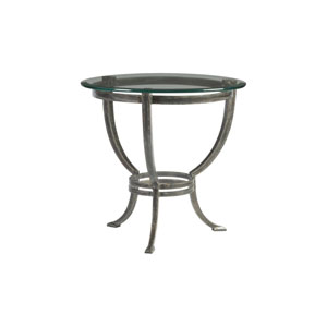 Metal Designs St. Laurent Andress Round End Table