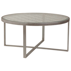 Metal Designs Argento Royere Round Cocktail Table